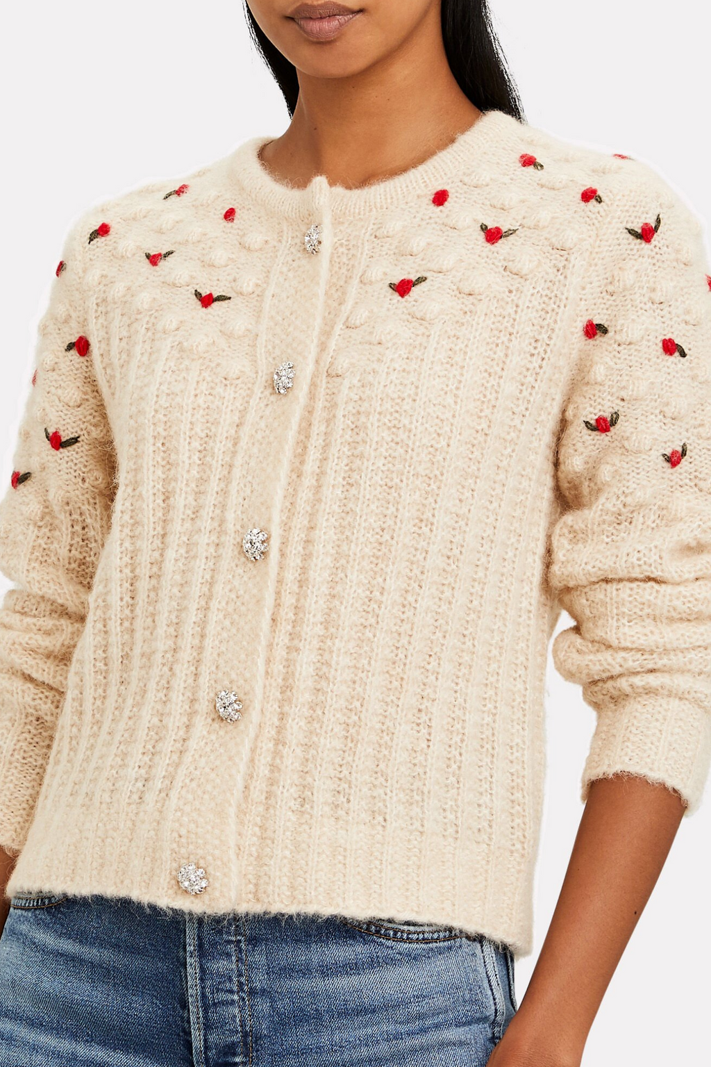 Rollo Cardigan Winter White