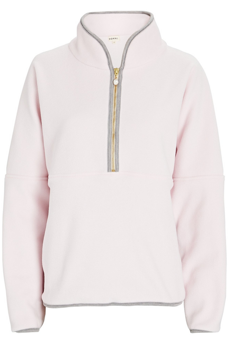 Polar 1/2 Zip Pullover Rose/Heather