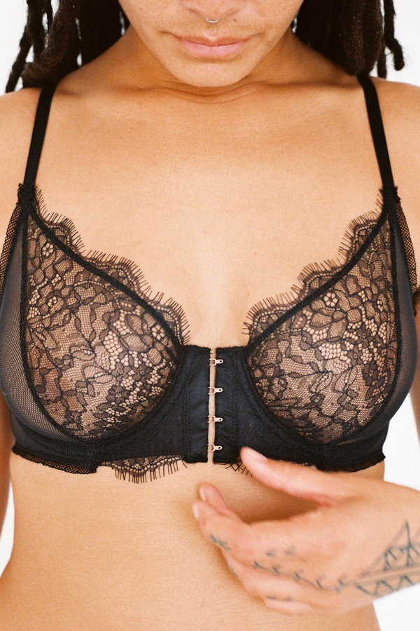 Shelby Underwire Bra Black