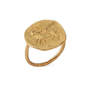Aries Ring 18K Gold