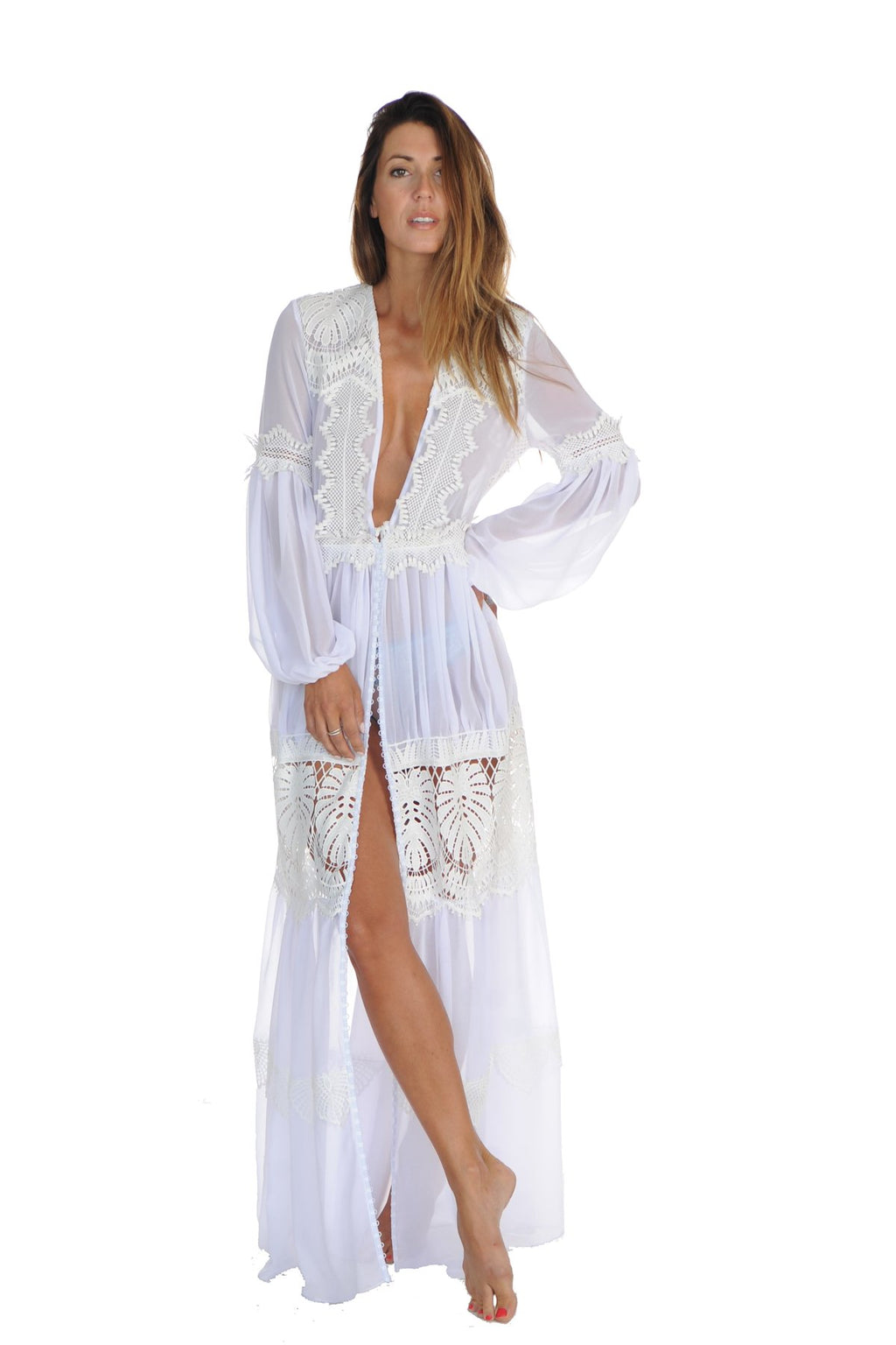 Bridal Blanche Robe