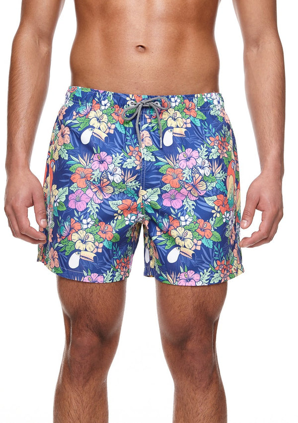 Jungle Mid Length Swim Shorts