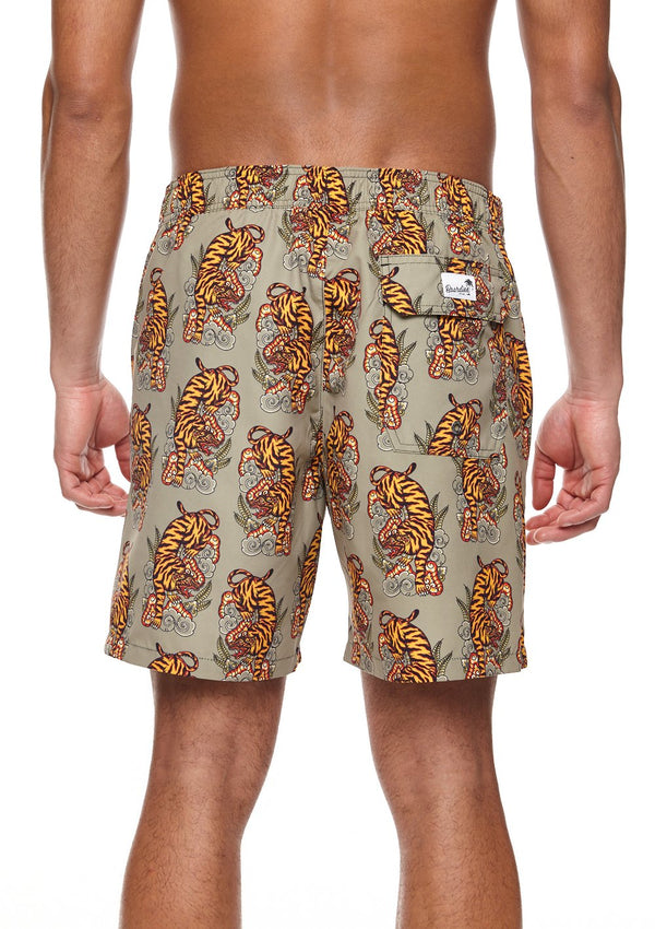 Eka Bali Tiger Premium Swim Shorts