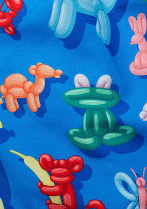 Kids Balloon Animals Swim Shorts