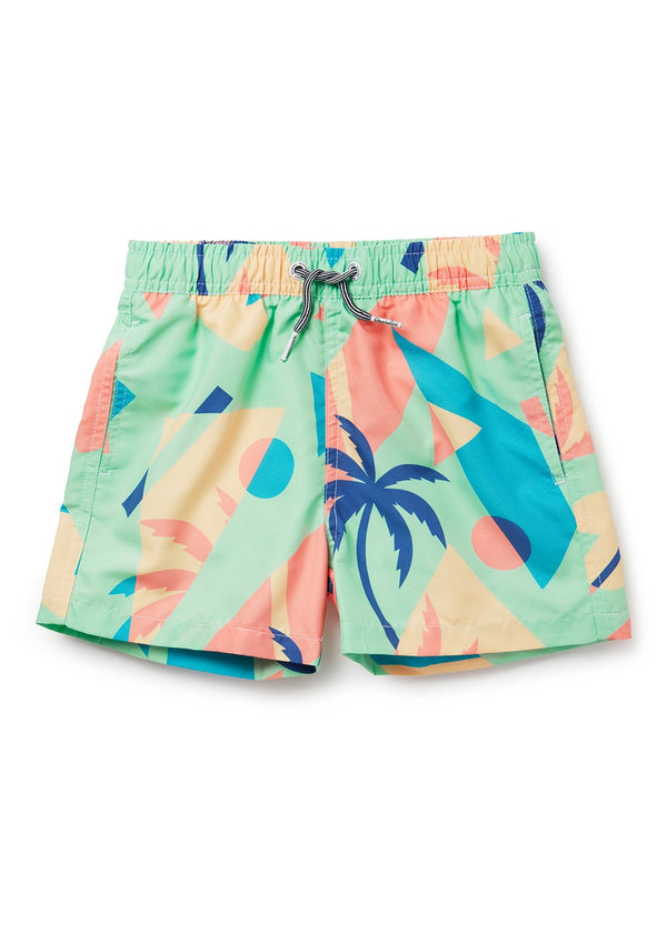 Kids Overlay Swim Shorts