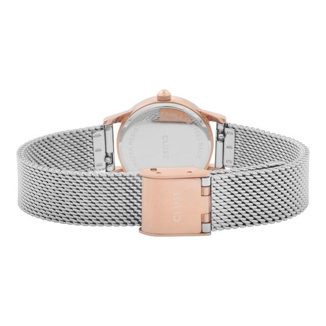 La Vedette Rose Gold/Silver Watch