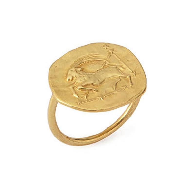 Capricorn Ring 18K Gold