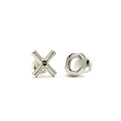 XO Earrings Silver