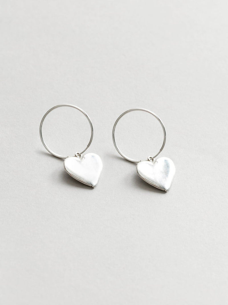Amourette Earrings Silver