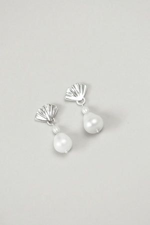 Cecilia Silver Earrings