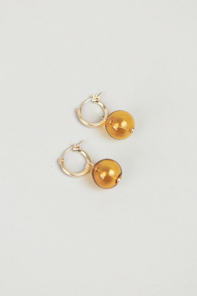 Taryn Yellow Earrings