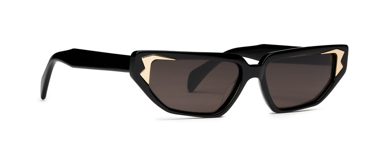Flame Sunglasses Black