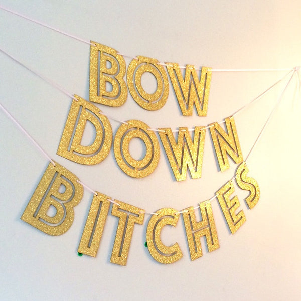 Bow Down Banner