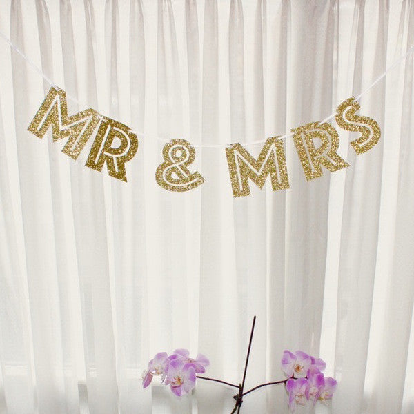 Mr & Mrs Banner | Gold