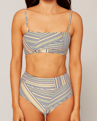 Rebel Top Get In Line Stripe