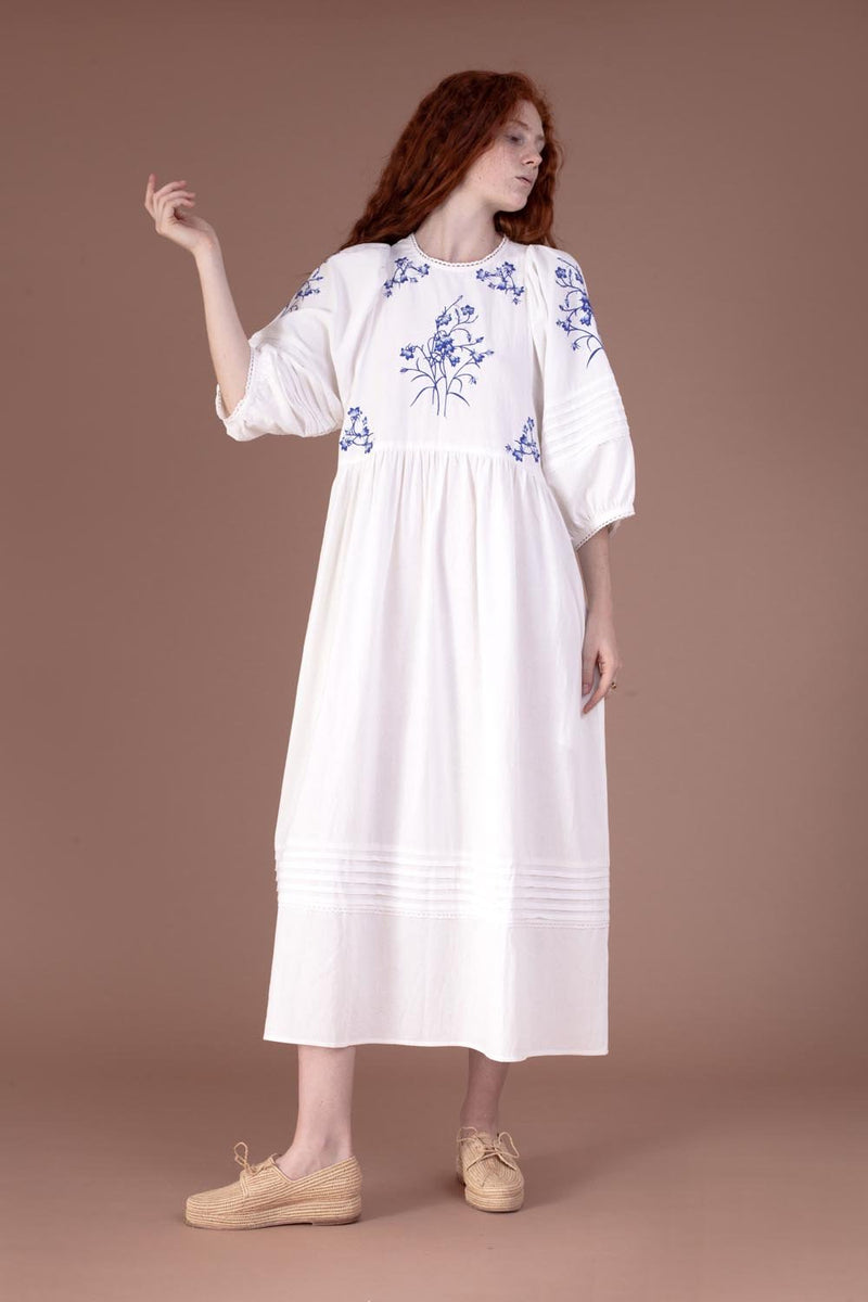 Azelea Dress Bluebell