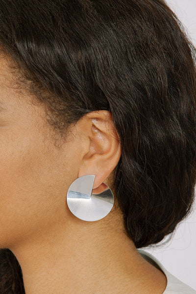Mira Silver Earrings