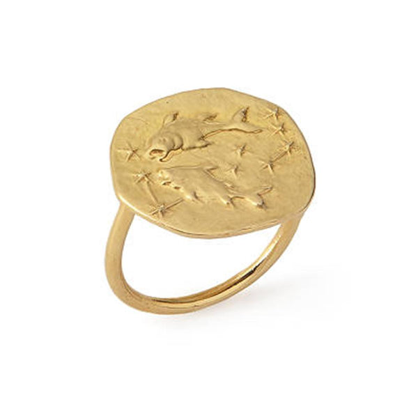 Pisces Ring 18K Gold