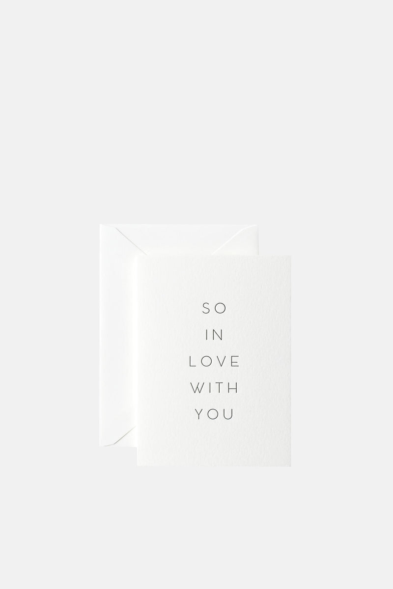 So in Love with you Card | In Haus Press