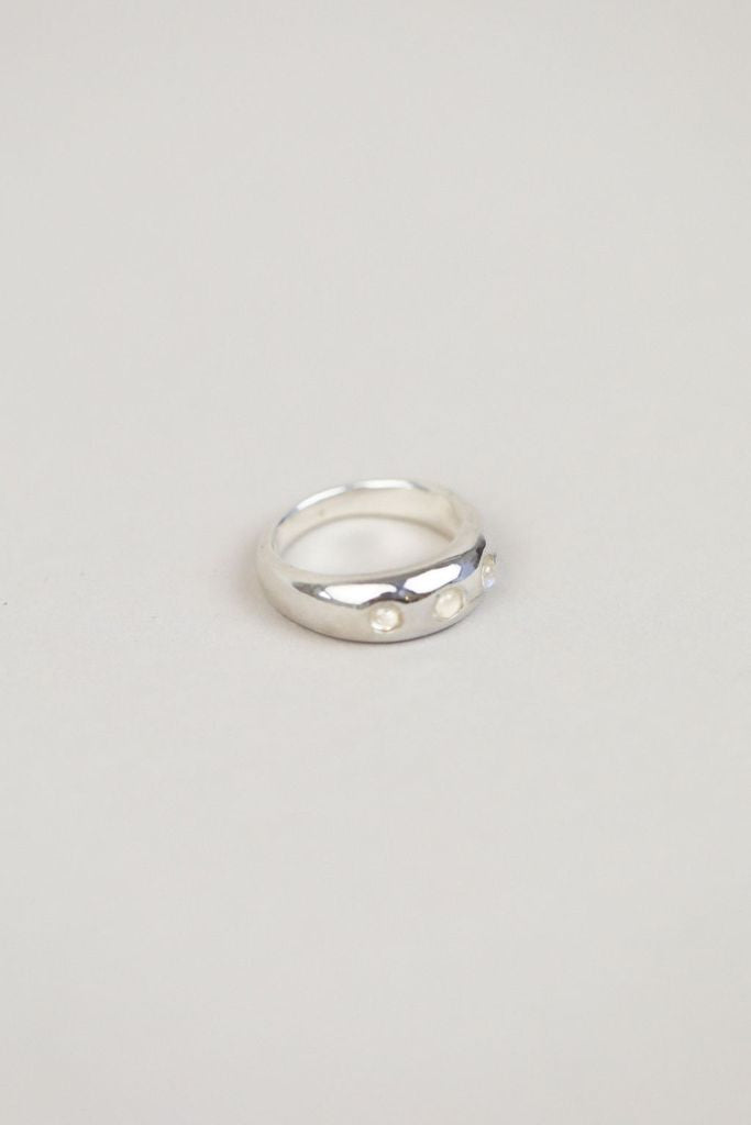 Mabel Silver Ring Size 7