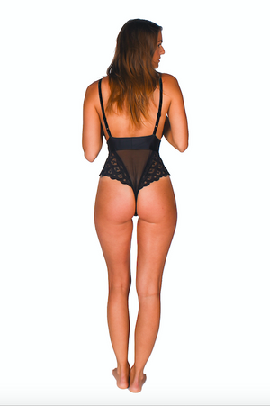 Olivia Bodysuit Black