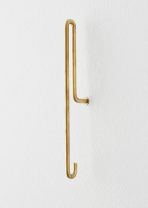 Large Wall Hook Brass | Moebe