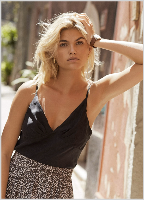 Meant for both memorable occasions and throw-on moments, the classic charcoal Cami in soft cupro is a wardrobe staple to hold on to. Dress it up, dress it down, wear it often - the perfect top for Spring and Summer months ahead! Designed by Auguste.