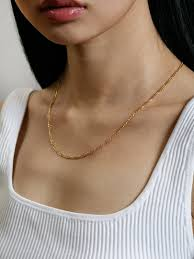 Mila Figaro Necklace Gold
