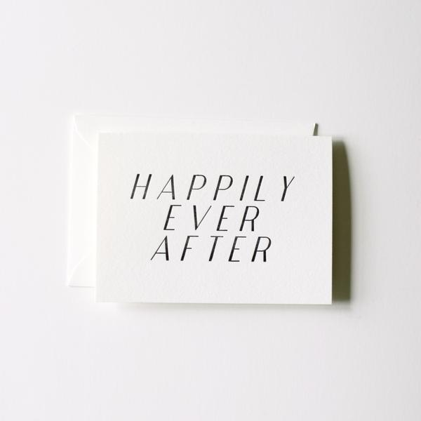 Happily Ever Card | In Haus Press