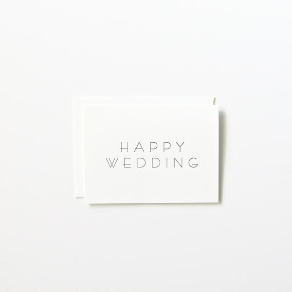Happy Wedding | In Haus Press