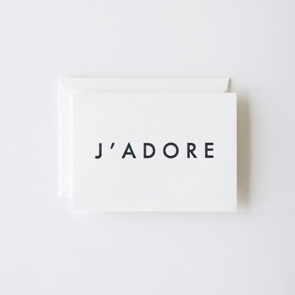 J'adore Card | In Haus Press