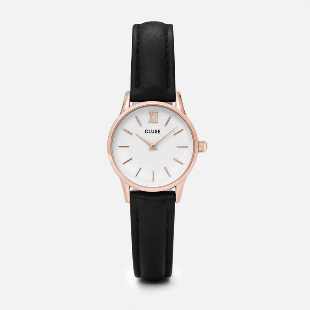 La Vedette Rose Gold/ Black Watch