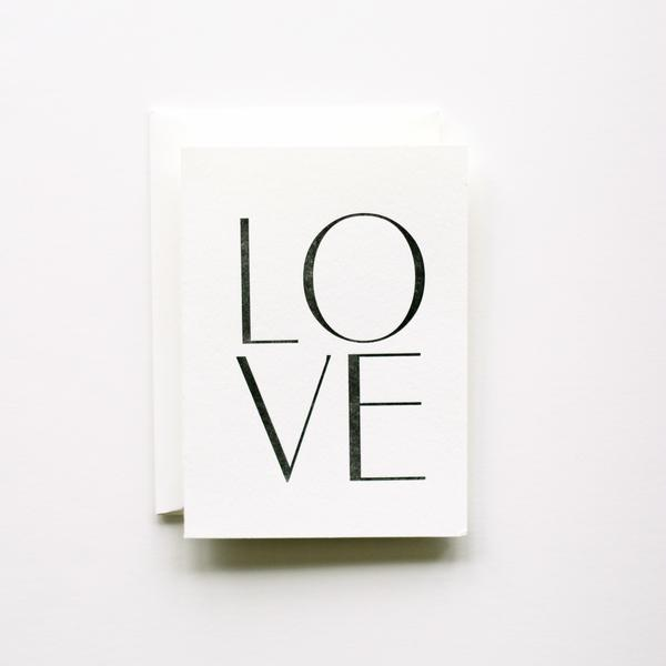 LOVE Card | In Haus Press