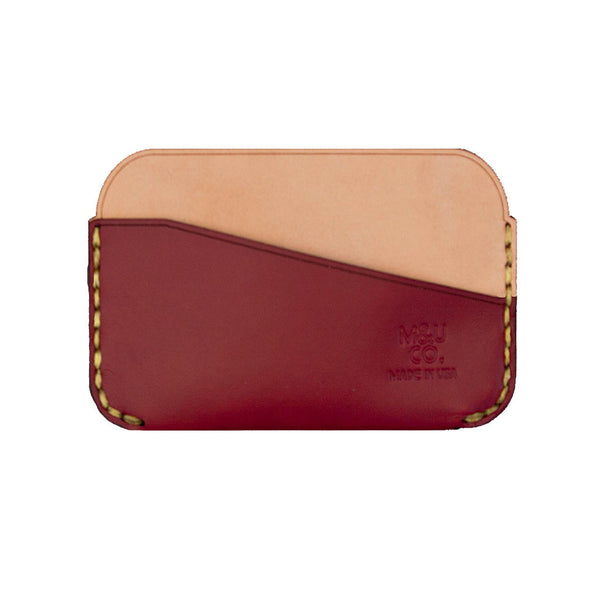 Two Tone Card Wallet