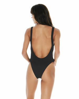 Mayra One Piece Black