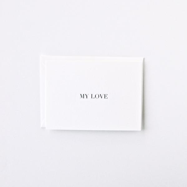 My Love Card | In Haus Press