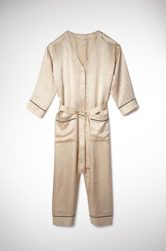 The PJ Jumpsuit Gold