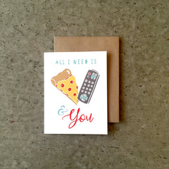Pizza, TV & You Card
