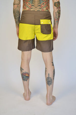 Strange Rumblings globe swimshorts