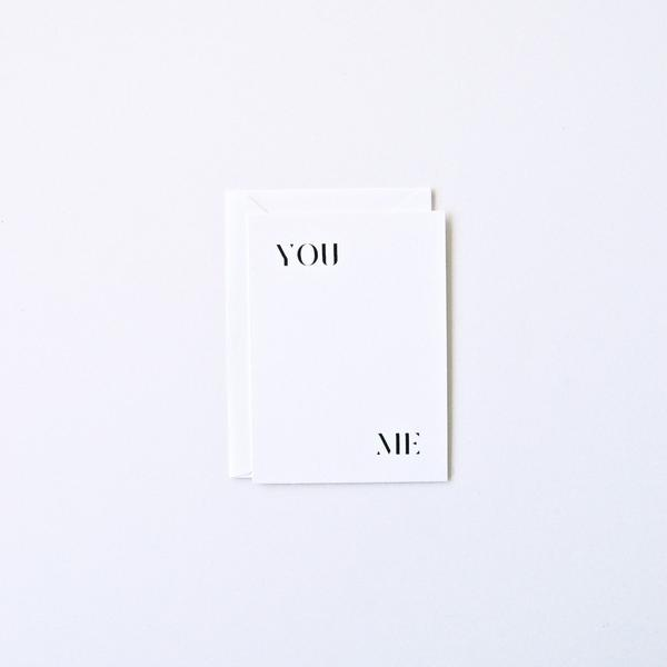 You & Me | In Haus Press