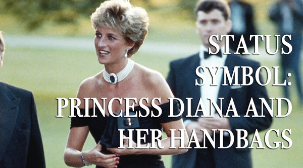 Status symbol: Princess Diana and her handbags