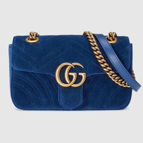 GG Marmont velvet mini bag  $1775.00