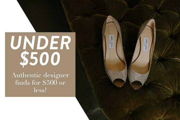 Designer products under $500