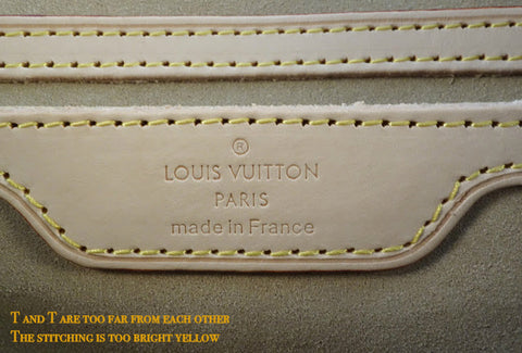 Images For Images For Louis Vuitton Made In France >> How To Authenticate A Louis Vuitton Bag And Spot A Fake