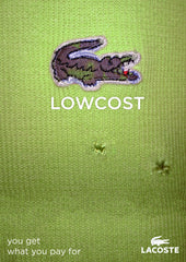 Lowcost Logo instead of Lacoste