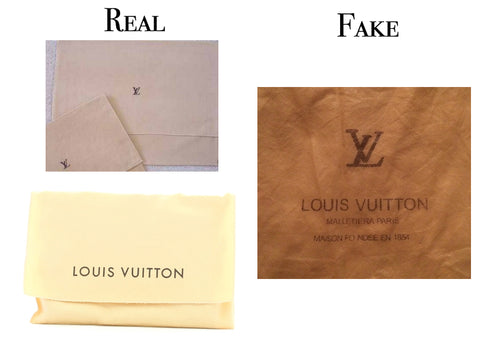 ba31c0473292 The dust bag should only say LOUIS VUITTON or have a monogram