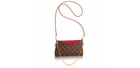 Louis Vuitton Pallas Clutch, $1350.00