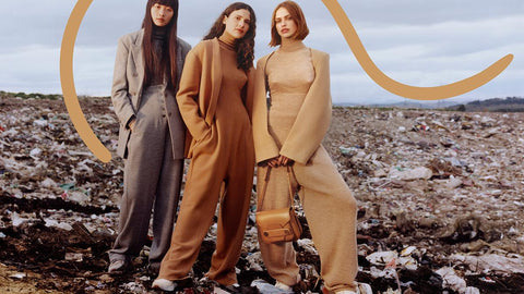 Stella McCartney's womenswear autumn/winter 2017 advertising campaign, focusing on landfills full of plastic