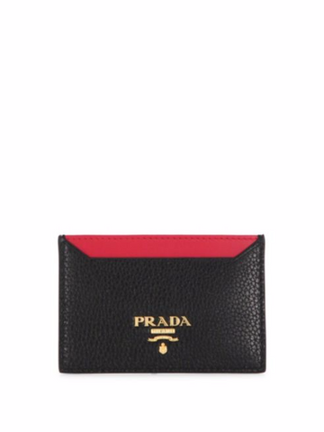 Prada Bi-Color Card Case, $345.00