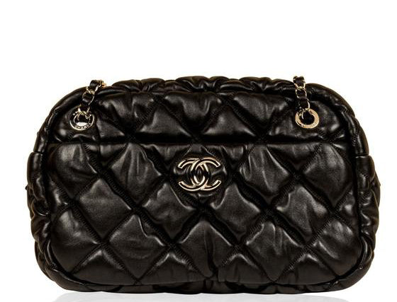 Chanel Puffy Bowler Bag